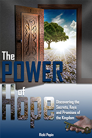 The Power of Hope Book Cover by Ricki Pepin